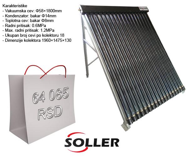 Vakuumski solarni kolektori